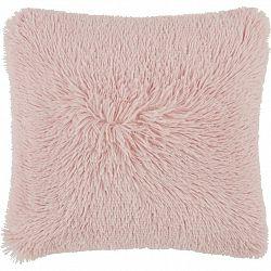 Dekoračný Vankúš Fluffy, 45/45 Cm, Ružová