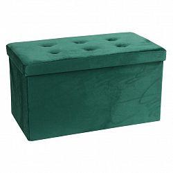 Sedacia Lavica Velvet Zelená